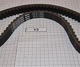 Ремень вариатора V5,V3  1000x24,2