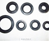 Сальники 1P50FMG Lifan комплект(17x29x5;12x21x4;13,5x24x6;18,9x30x5;13,7x24x5;11,6x24x10;30x42x4,5)