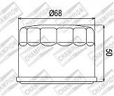 Фильтр масляный CH COF047