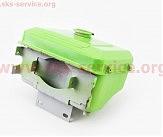 Бак топливный R175A/R180NM, 260x190x165мм, выступ. горловина, отверстие под шланг топливный