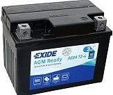 Аккумулятор AGM 3Ah 50A EXIDE SLA12-4 = AGM12-4 113x70x85