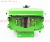 Бак топливный R175A/R180NM, 260x190x165мм, выступ. горловина, отверстие под шланг топливный + крышка