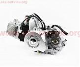 Двигатель мопедный в сборе 110куб (ALPHA) -