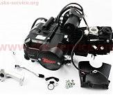 Двигатель для квадроцикла (мопедный) в сборе 110куб  -