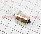 Лампа поворота (белая с цоколем) 12V/10W G18