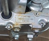 Двигатель 139 FMB 50сс мото разборка