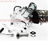 Двигатель мопедный в сборе 110куб (Delta) -