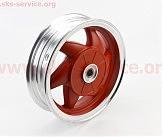 D04 Диск литой задний (бараб. торм. для 2Т-18шлицов)  MT2,5x10 красный