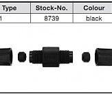 Соединитель высоковольтного провода NGK 8739 / J-1