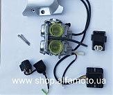 Двигатель в сборе мото Korsar 253FMM 250сс(полный комплект)